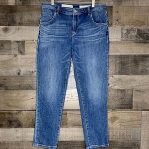 High Rise Jeans Pilcro and the Letterpress EM 30